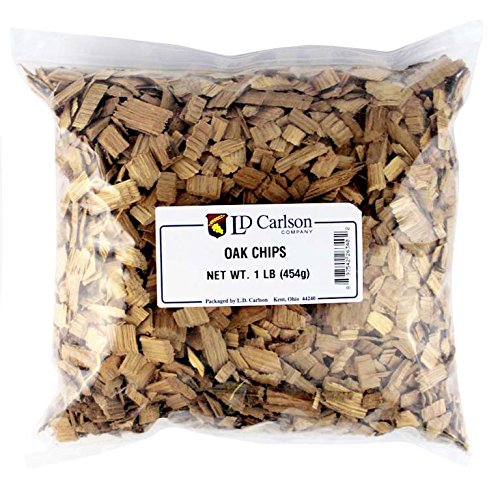 Home Brew Ohio American Medium Toasted Oak Chips, 1 lb.