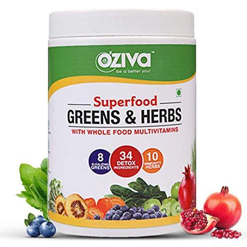 OZiva Superfood Greens & Herbs …