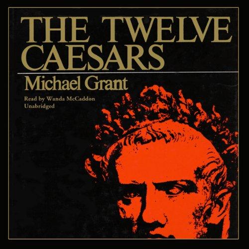 The Twelve Caesars audiobook cover art