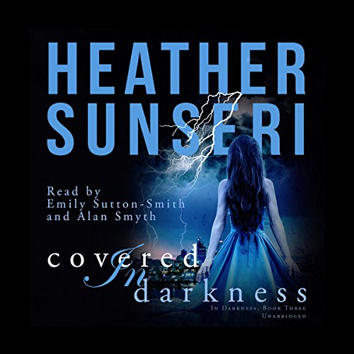 Covered in Darkness audiobook cover art