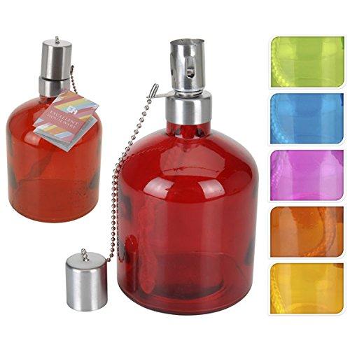 Excellent Quinque, Coloris Assortis : Rouge, Vert, Bleu, Rose, Orange et Jaune, 10 x 10 x 18 cm