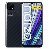 realme Narzo 30A Smartphone 4+64GB Batería de 6000mAh Teléfono Móvil Dual Sim 6.5' con Desbloqueo Facial AI Cámara Triple Android 10 - Negro