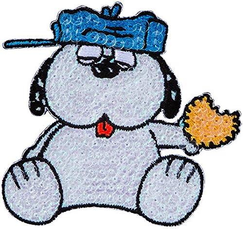 Minoda Snoopy Pailletten versiegeln Iron & Siegel amphibischen OLAF S02Y8979