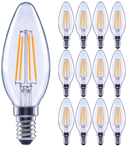 candelabra bulbs led 60w - 6