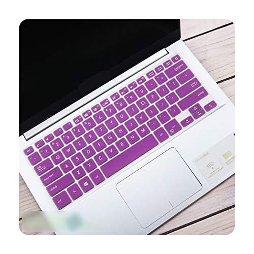 Custodia protettiva per tastiera portatile da 14 pollici per notebook Asus vivobook S14 X411UF X411UA X411UN X411MA X411N R421 Notebook-Viola
