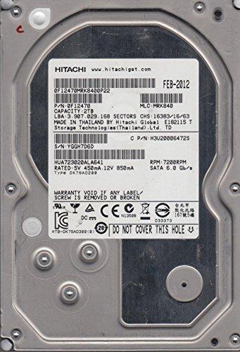 HUA723020ALA641, PN 0F12470, MLC MRK840, Hitachi 2TB SATA 3.5 Festplatte