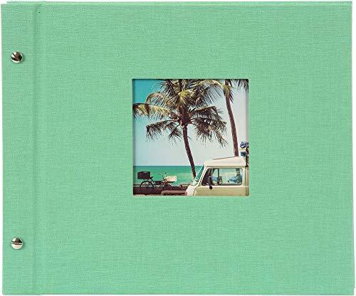 Goldbuch Schraubalbum Bella Vista neo-Mint 30x25 cm weiße Seiten