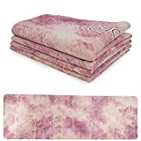 softan Foldable Travel Yoga Mat for Hot Yoga Hotel Room/Beach Made from Natural