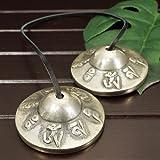 チベット密教 ティンシャ(チベタンシンバル) 梵字 7メタル