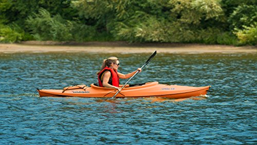 Sun Dolphin Aruba Sit-in Kayak for big kids (Tangerine, 10-Feet)