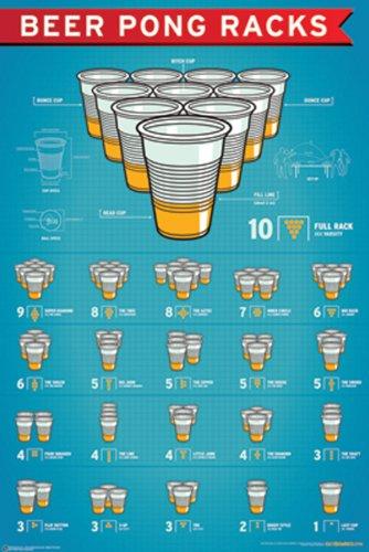 NMR 99400 Beer Pong Racks Deko Poster