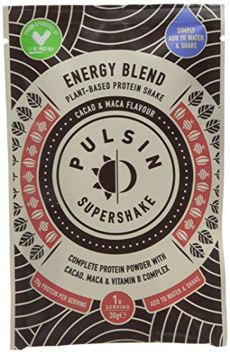 Pulsin Cacao and Maca Energy Supershake (Case of 8),