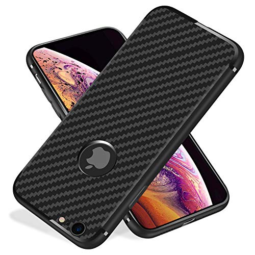 iPhone 6s Plus Case/6 Plus Case,Yonader [Carbon Fiber][Frosted and Anti-Slip] Perfect Slim Fit Ultra Thin Protection Series TPU for iPhone 6s Plus/iPhone 6 Plus
