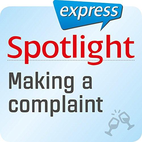 Spotlight express - Ausgehen: Wortschatz-Training Englisch - Beschwerden Titelbild