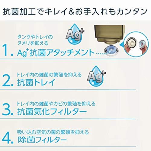 ダイニチ(Dainichi)加湿器ハイブリッド式(木造和室5畳まで/プレハブ洋室8畳まで)RXシリーズクリスタルホワイトHD-RX319-W