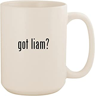 got liam? - White 15oz Ceramic Coffee Mug Cup