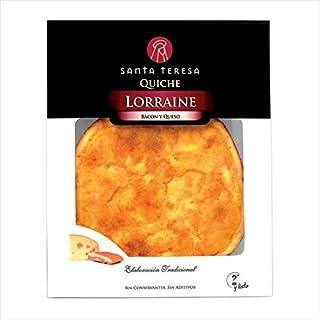 comprar comparacion Quiche Lorraine (bacon y queso) Santa Teresa