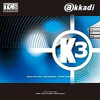 アカディ(akkadi) 卓球 ラバー K3 表ソフトラバー AR006 ブラック(AB) 1.5