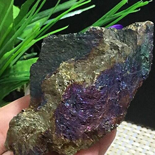Mail order Crystal 204G Natural Calcite Clu Max 90% OFF Grow Chalcopyrite with