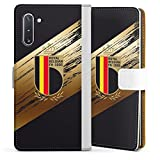 DeinDesign Étui Compatible avec Samsung Galaxy Note 10 Étui Folio Étui magnétique Maillot RBFA...