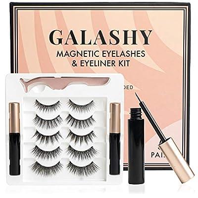 Galashy Magnetic Eyelashes With Eyeliner Kit - ...