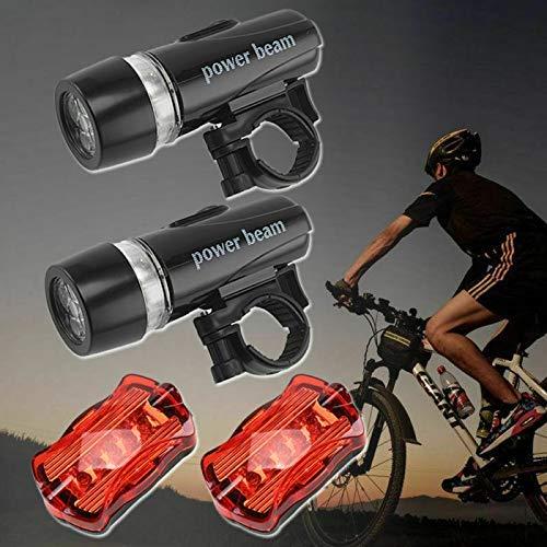 Mnsun LED Fahrradlicht Set, Battery...