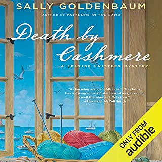Death by Cashmere audiobook cover art