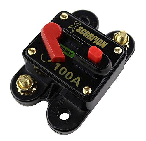 XSCORPION (CB100) 100 Amp Circuit Breaker with Manual Reset