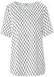 Peter Hahn Blusen-Shirt zum Schlupfen mit Allover-Muster Damen