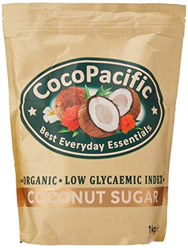 CocoPacific - Azúcar de coco bio, 1 kg, pack de 2