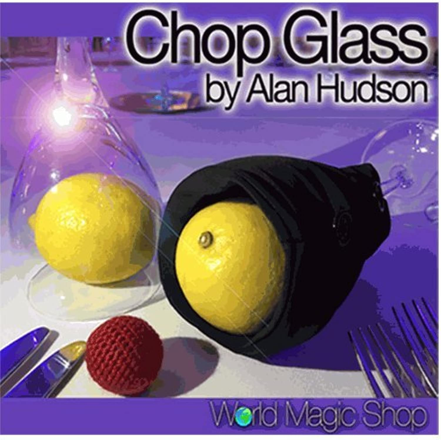 diseño simple y generoso SOLOMAGIA Chop Glass (Gimmicks and Online Online Online Instructions) by Alan Hudson and World Magic Shop - Close-Up Magic - Trucos Magia y la Magia - Magic Tricks and Props  buena calidad