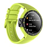 Ticwatch E Shadow Smartwatch con Display OLED da 1,4 Pollici, Android Wear 2.0,...