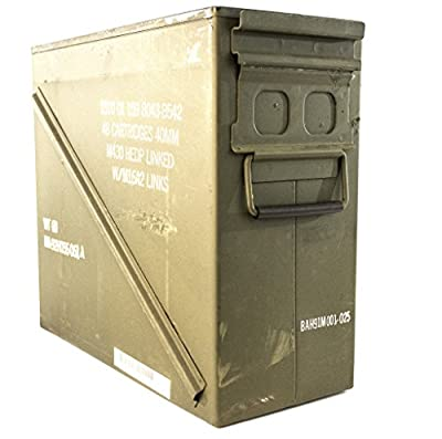 Ammo Can Military Surplus Metal Large 20mm 40mm - Grade 2