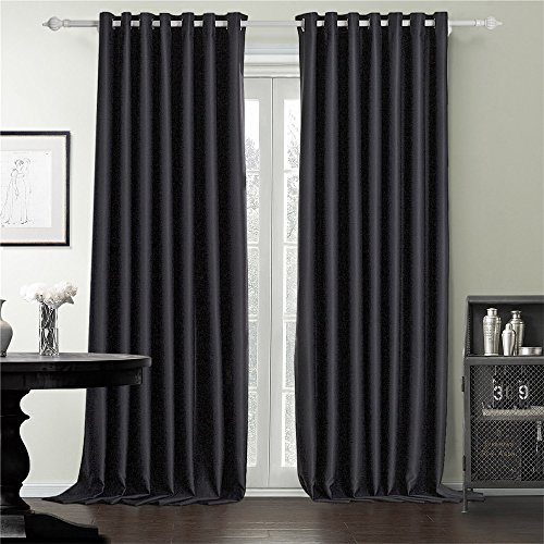 IYUEGO Curtains 120Inch 300Inch Windows Blackout