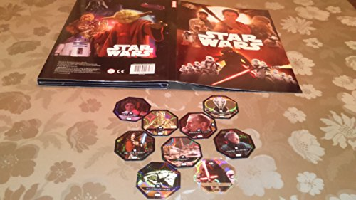 Rewe STARWARS Album Cosmic Shells Disney Starwars Album Leer