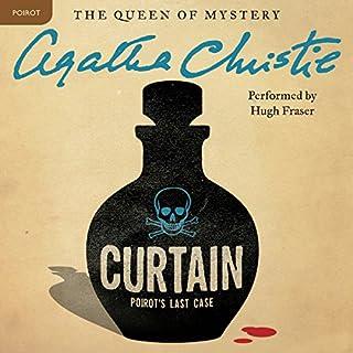 Curtain: Poirot's Last Case audiobook cover art
