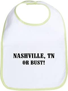 Nashville or Bust! Bib Cloth Baby Bib