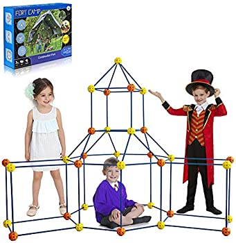 Ploodisney Fort Building Kits with Tent Sheet