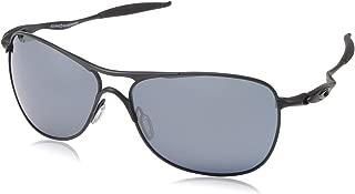 Men's OO4060 Crosshair Aviator Metal Sunglasses