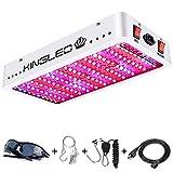 King Plus 1200w LED Grow Light Full Spectrum for...
