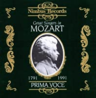 Great Singers in Mozart by W.A. Mozart (2013-05-03)