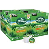 Green Mountain Coffee Roasters Breakfast Blend Decaf, Single-Serve Keurig K-Cup Pods, Light Roast Coffee, 96 Count
