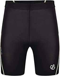 Dare 2b Men's Bold Lightweight Quick Drying Stretch Reflective Detail Short Cycle Shorts