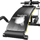 OESFL アームレスト、腹筋運動のための6つのポジションインチョン衰退シットアップベンチ、ヘビーデューティ定格フルボディワークアウトベンチ/ボード、フィットネス機器とのマルチアジャスタブル重量ベンチ