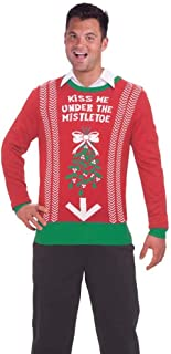 kiss me under the mistletoe sweater