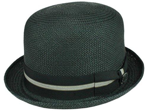 Bigalli Homme Chapeau Melon Derby Stingy noir