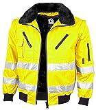 Qualitex-Warnschutz-Pilotenjacke 3 IN 1 NACH EN 471 Farbe Leuchtorange Größe S