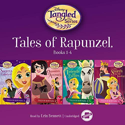Tales of Rapunzel, Books 1–4 cover art