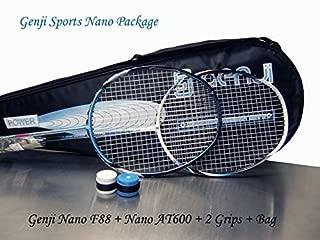 Genji Sports Nnao Pro Badminton Package, Blue/White, SL2
