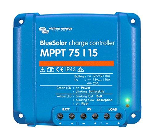 MPPT 75/15regulador de carga solar Victron Energy Blues olar–energyxxl